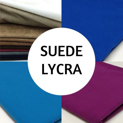 Suede Lycra